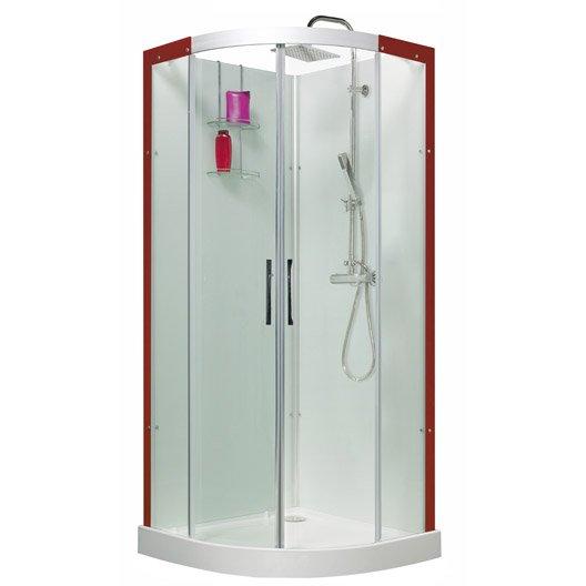 cabine de douche salle de bains leroy merlin. Black Bedroom Furniture Sets. Home Design Ideas