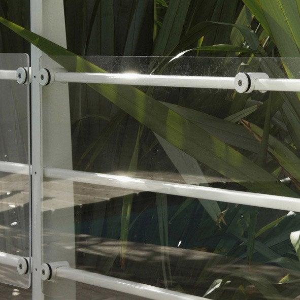 plaque pour garde corps tieral verre acrylique transparent x cm leroy merlin. Black Bedroom Furniture Sets. Home Design Ideas