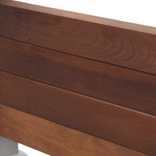 4 lattes tieral pour garde corps en bois x cm leroy merlin. Black Bedroom Furniture Sets. Home Design Ideas