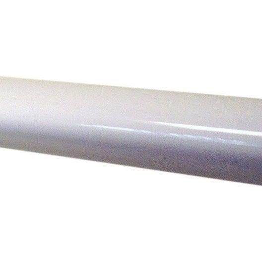 main courante pour main courante tieral aluminium blanc x l cm leroy merlin. Black Bedroom Furniture Sets. Home Design Ideas