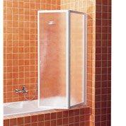 Pare-baignoire 2 volets pivotant pliant acrylique granité GI...