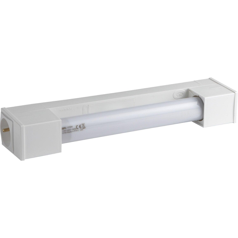 Réglette Bagno, Poupança de energia 1 x 13 W, S19 blanc chaud ...