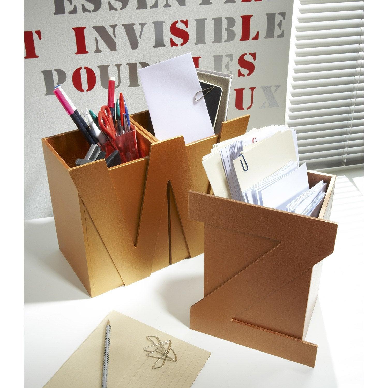 lettre adh sive bois m tal au meilleur prix leroy merlin. Black Bedroom Furniture Sets. Home Design Ideas