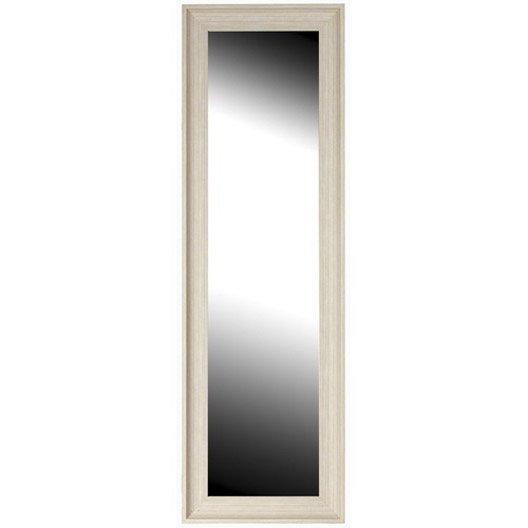 Miroir oslo naturel 40x140 cm leroy merlin for Miroir 130 x 40