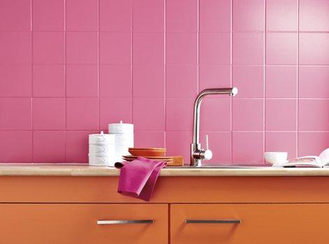 Peinture pour carrelage mural salle de bain for Peinture speciale salle de bain v