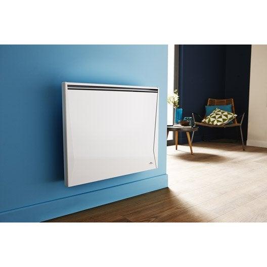 radiateur lectrique inertie fonte airelec vaillance 1000 w leroy merlin. Black Bedroom Furniture Sets. Home Design Ideas