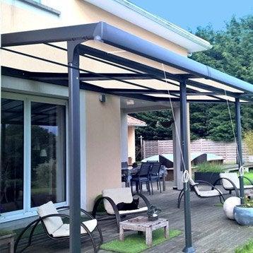 Tonnelle pergola toiture de terrasse leroy merlin - Tonelle leroy merlin ...