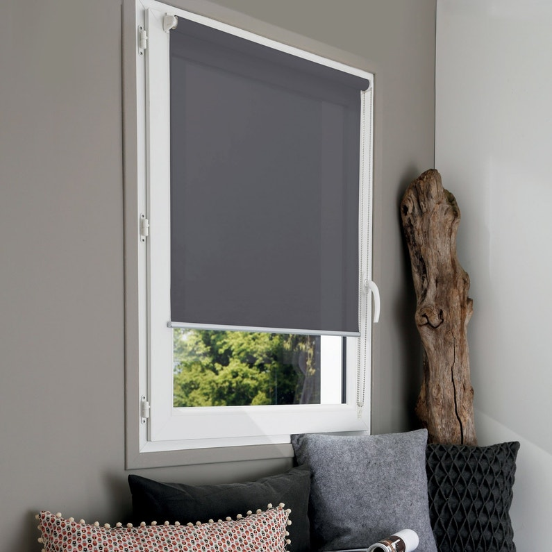 store enrouleur tamisant mesh gris 67 70 x 190 cm. Black Bedroom Furniture Sets. Home Design Ideas