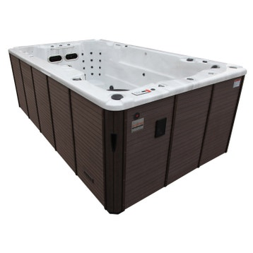spa de nage spa au meilleur prix leroy merlin. Black Bedroom Furniture Sets. Home Design Ideas