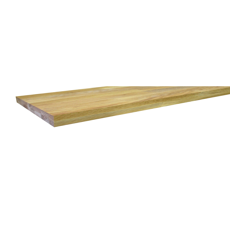 Table Coulissante Sous Plan De Travail plan de travail bois chêne pré-huilé mat l.300 x p.65 cm, ep.36 mm