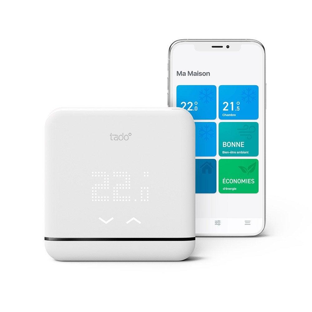 Rafraichir Une Pièce Sans Climatisation thermostat connecté pour climatisation et pompe à chaleur, sans fil, tado  v3+