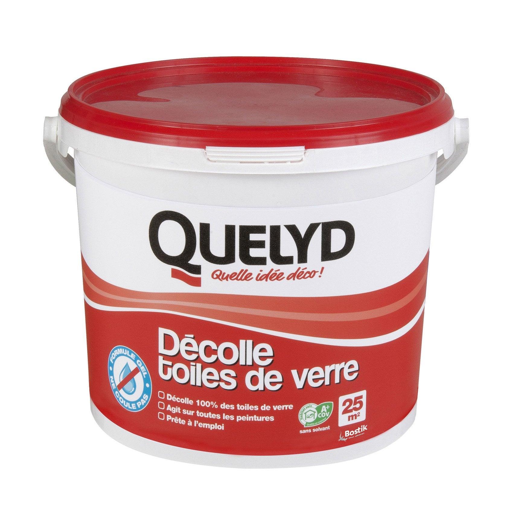 Décoller Papier Peint Produit décolleur toile de verre toile de verre quelyd, 5 kg