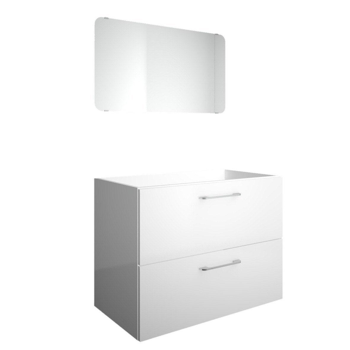 meuble sous vasque l 79 x h 60 x p 44 5 cm happy Résultat Supérieur 15 Meilleur De Meuble sous Vasque 60 Cm Stock 2018 Phe2
