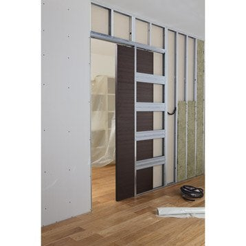syst me coulissant syst me galandage rail porte coulissante cache rail leroy merlin. Black Bedroom Furniture Sets. Home Design Ideas