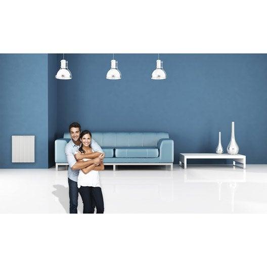 radiateur lectrique inertie pierre airelec seboa haut 1500 w leroy merlin. Black Bedroom Furniture Sets. Home Design Ideas