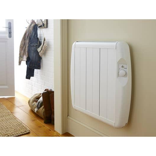 radiateur lectrique inertie pierre esc2a a06 1500 w leroy merlin. Black Bedroom Furniture Sets. Home Design Ideas