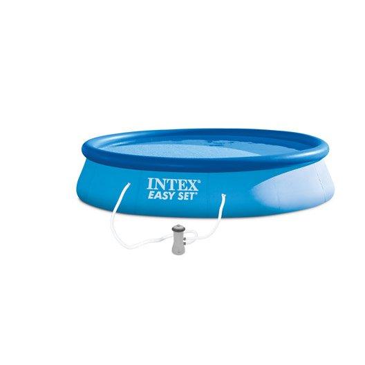 Piscine piscine hors sol bois gonflable tubulaire for Piscine hors sol gonflable intex