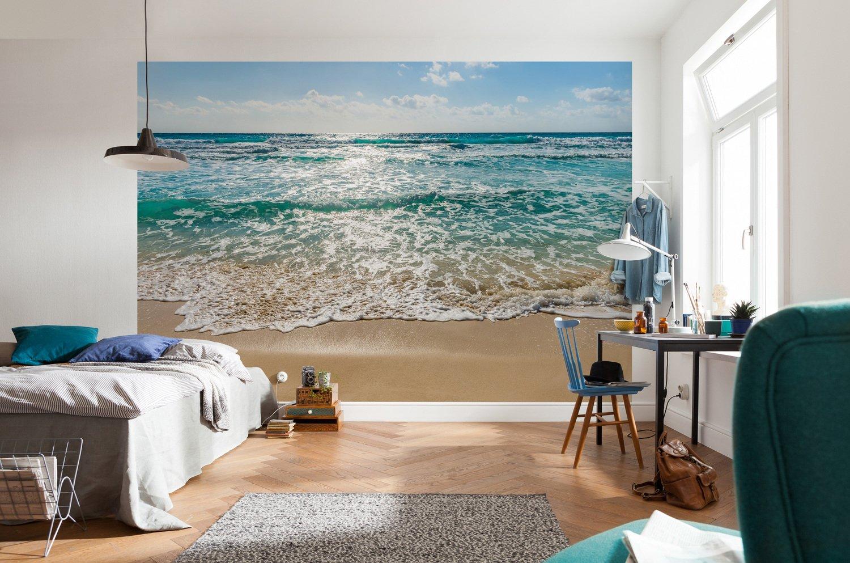 Habiller le mur de la chambre avec un poster mural de sable en