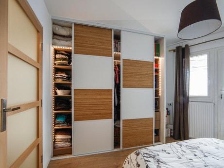 un dressing pour votre garde robe leroy merlin. Black Bedroom Furniture Sets. Home Design Ideas