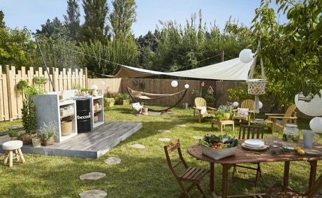 Le barbecue au coeur du jardin