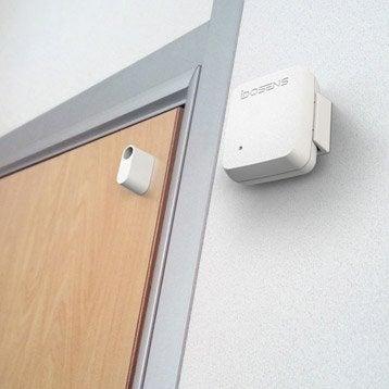 alarme maison sans fil alarme maison au meilleur prix leroy merlin. Black Bedroom Furniture Sets. Home Design Ideas