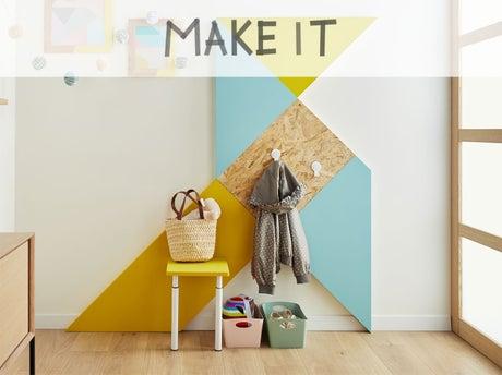 diy cr er un porte manteau cocotte leroy merlin. Black Bedroom Furniture Sets. Home Design Ideas