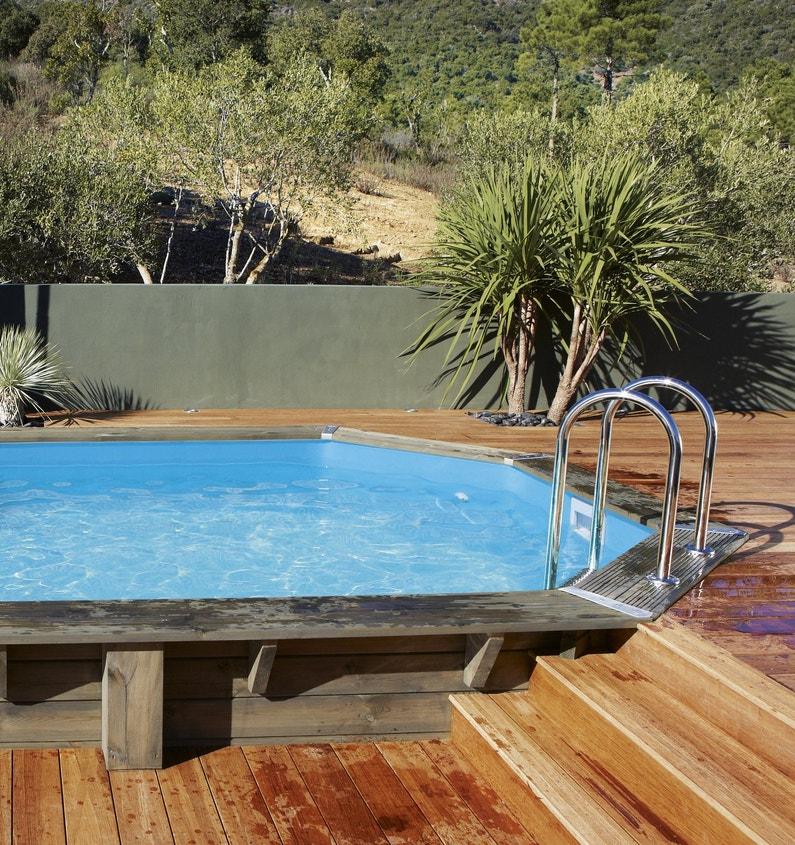 piscine hors sol un t la fra che. Black Bedroom Furniture Sets. Home Design Ideas