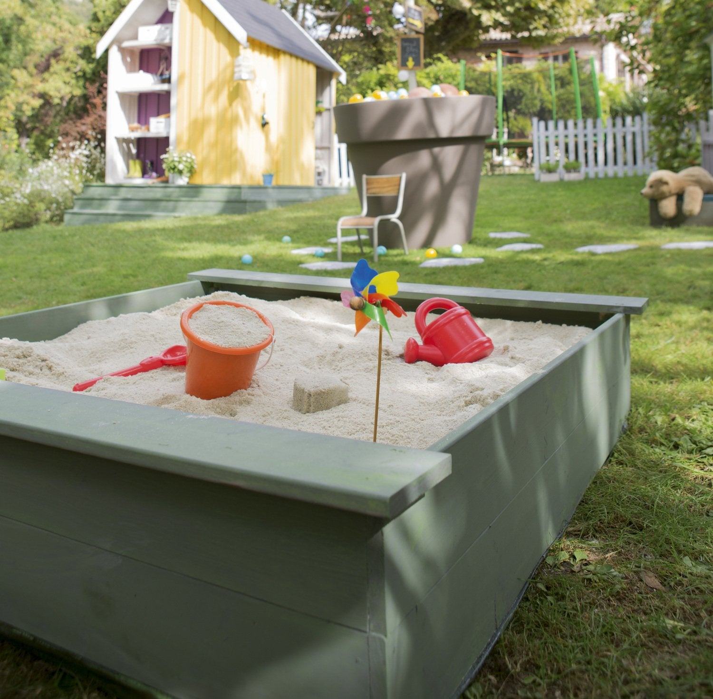 Espace de jeu au jardin leroy merlin for 1001 trucs et astuces pour le jardin