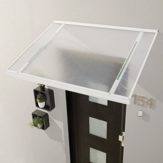 auvent en kit m l structure en aluminium 120 x 38 x 85 cm leroy merlin. Black Bedroom Furniture Sets. Home Design Ideas