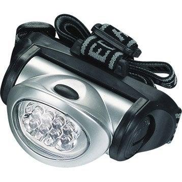 Lampe frontale portée 7 m, 24 lumens LEXMAN