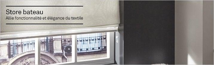store bateau store panneau japonnais et store lamelles leroy merlin. Black Bedroom Furniture Sets. Home Design Ideas