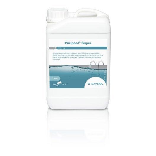 Hivernage piscine bayrol puripool super liquide 3 l for Produit hivernage piscine