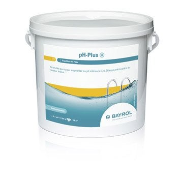Traitement piscine chlore brome oxyg ne actif ph for Rehausseur 13kg