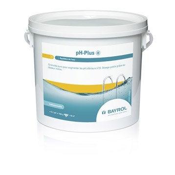 Rehausseur de ph piscine BAYROL, granulé 5 l 5 kg