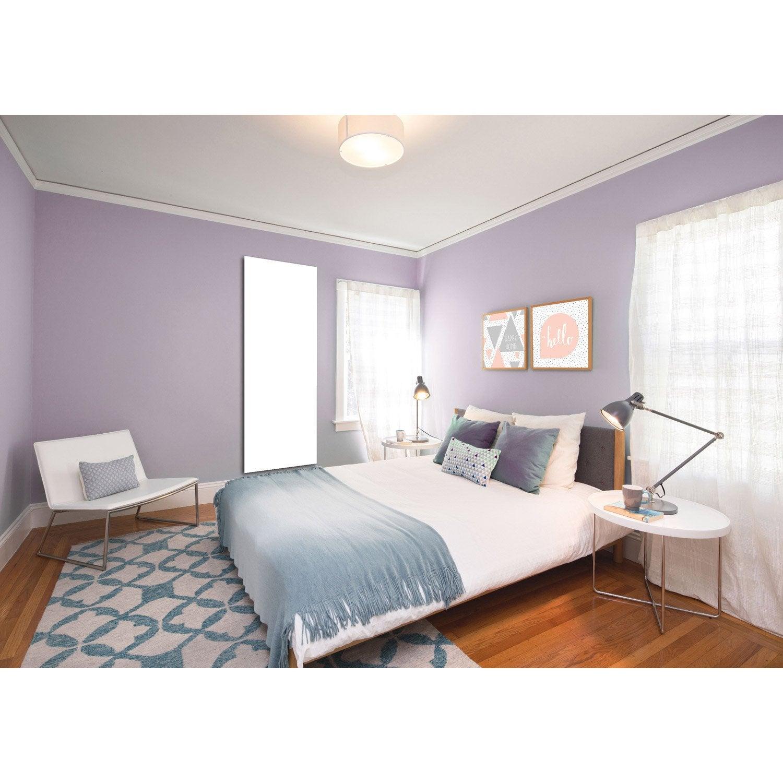 radiateur lectrique rayonnement decowatt uni blanc 1200 w leroy merlin. Black Bedroom Furniture Sets. Home Design Ideas