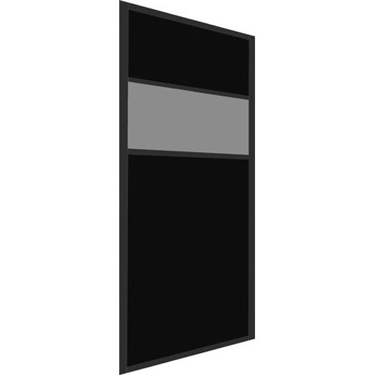 porte de placard coulissante sur mesure elfa kiruna de 45. Black Bedroom Furniture Sets. Home Design Ideas