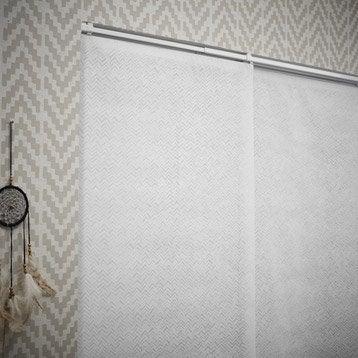 Panneau japonais, Flêches blanc, H.250 x l.50 cm