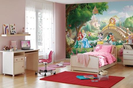 Les princesses Disney accompagne les rêves des demoiselles