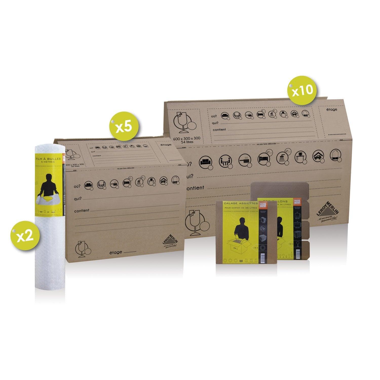 kit de d m nagement premium leroy merlin. Black Bedroom Furniture Sets. Home Design Ideas