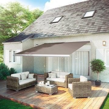 store banne store terrasse store banne sur mesure au. Black Bedroom Furniture Sets. Home Design Ideas