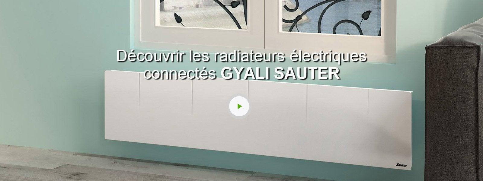 radiateur lectrique connect inertie pierre sauter. Black Bedroom Furniture Sets. Home Design Ideas