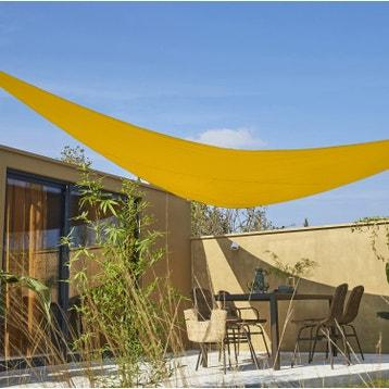 Toile Triangle Solaire Voile Pour Terrasse Jardin  Exoteck Toile