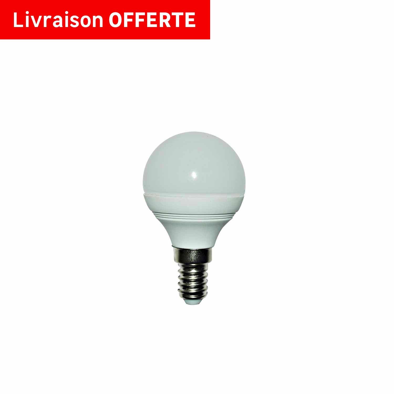 Ampoule Sph Rique Led 5w 470lm Quiv 40w E14 3000k 150 Lexman