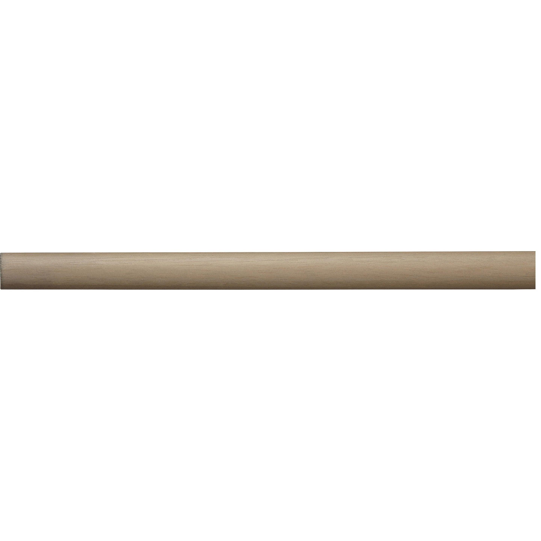Tringle à rideau Design chêne verni 150 cm INSPIRE