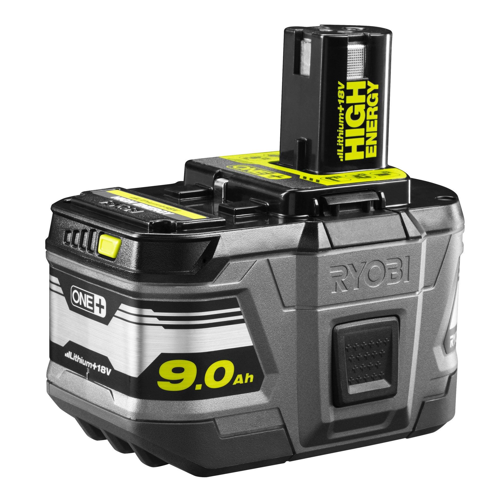 Batterie RYOBI, 18 V, 9 Ah One+ rb18l90 lithium ion | Leroy