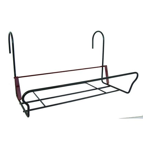 Support balconnière JARDIFER rectangulaire gris anthracite