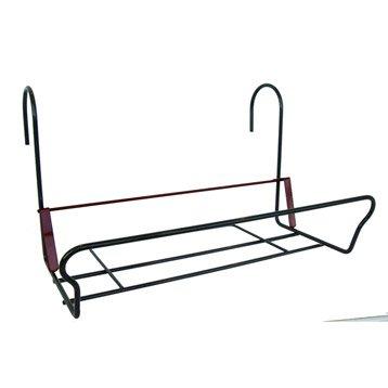 Support balconnière JARDIFER rectangulaire gris