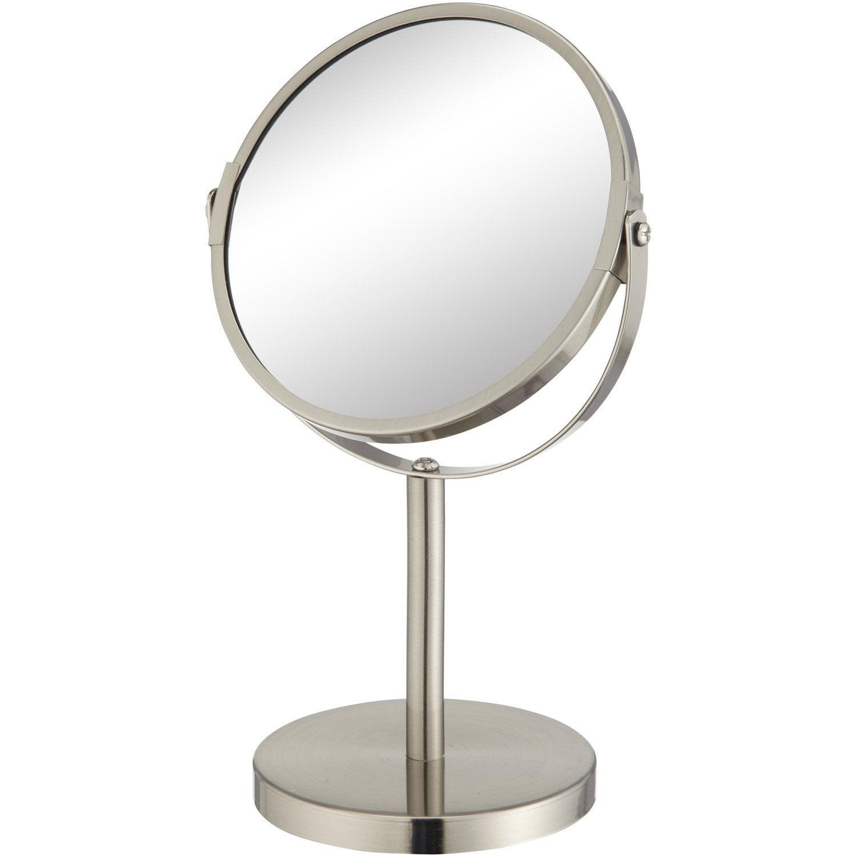 Miroir grossissant x 2 5 rond poser x beauty for Miroir a poser par terre