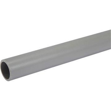 Tube d'évacuation PVC, Diam.32 mm, L.2 m