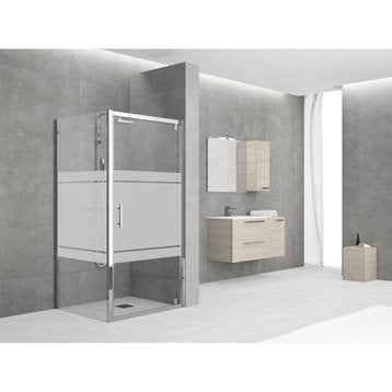 paroi et porte de douche leroy merlin. Black Bedroom Furniture Sets. Home Design Ideas